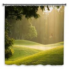 Golf Curtains Golf Shower Curtains Bath Decor Bath Mats Towels