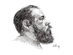 pen and ink self portrait in sketchbook pro by grobles63 on deviantart