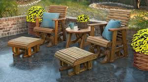 Swings And Gliders Patio Furniture by Outdoor Wood Furniture Outdoor Patio Furniture Deck Adirondack