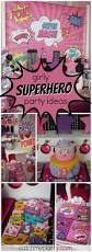 red egg and ginger party decorations superheroes birthday