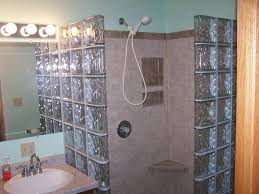 Bathroom Shower Enclosures Ideas by Fascinating Glass Shower Blocks 113 Glass Block Shower Enclosure