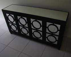Black Buffet Table Black Mirrored Buffet Table U2014 Unique Hardscape Design The Lovely