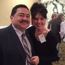 west chicago u0027s mayor ruben pineda with kathy from the barber