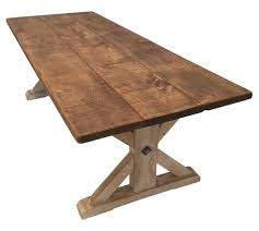 Dining Room Table Wood Reclaimed Pine Table Traditional Dining Room Tables Dering Hall