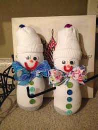 just a creativity baby sock snowman ornament tutorial