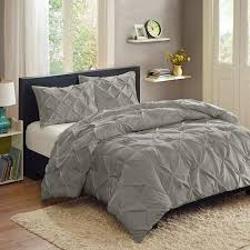 Duvet Comforter Set Better Homes And Gardens Pintuck 3 Piece Bedding Comforter Mini