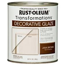 rust oleum transformations 1 qt java brown cabinet decorative