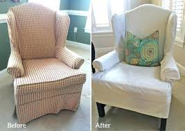 sure fit slipcovers wing chair sure fit cotton duck wing chair slipcover wing back chair slip cover