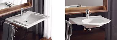 What Are Bathroom Sinks Made Of Agilo Privo Barrier Free Solutions Made Of Varicor