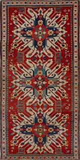 antique oriental eagle kazak rug antiques 08405hm matt