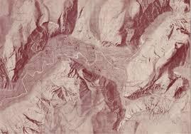Yosemite Topo Map Yosemite Valley Musings On Maps