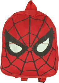fye marvel comics spider man mask kids mini backpack