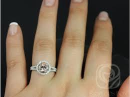 what is morganite rosados box 7mm 14kt white gold thin morganite and diamond