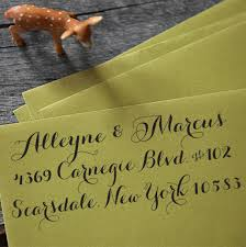 wedding invitations return address wedding invites the return address st woman getting