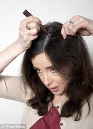 how to blend in gray roots of black hair with highlig can make up for hair banish your grey roots we put a selection to