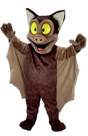 buy brown bat mascot costume t0190 mask us from costume shop com