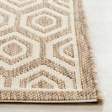 Safavieh Outdoor Rug Brown Honeycomb Indoor Outdoor Rug Safavieh
