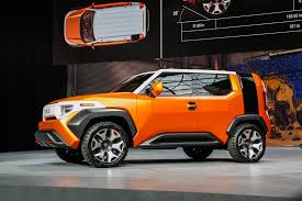 Toyota Ft 1 Engine Toyota Ft 4x Concept First Look A Rolling Millennial Adventure