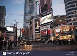 nissan canada downtown toronto toronto canada ontario yonge street stock photos u0026 toronto canada