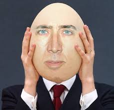 Nicolas Cage Memes - nicolas cage egg face swap meme canvas prints by memesense redbubble