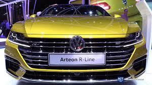 volkswagen arteon r line 2018 volkswagen arteon r line 4motion exterior interior