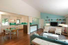 cuisine verte et marron 1001 conseils et idées pour une cuisine ouverte sur le salon