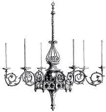 chandelier vintage gothic chandelier image gothic chandelier clip art and