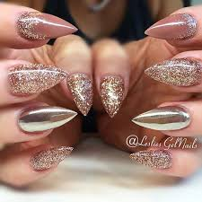best 25 gold glitter nails ideas only on pinterest pretty nails