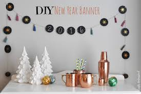 New Year Decoration Craft by Diy New Year Chalkboard Banner Tutorial Crafts Unleashed