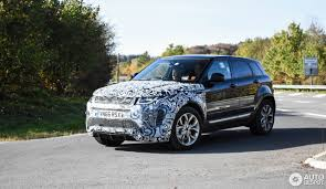 silver range rover evoque land rover range rover evoque mule 2019 25 october 2017 autogespot