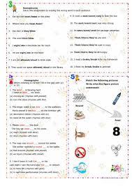 homonyms homophones homographs worksheet free esl printable
