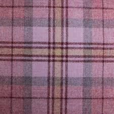 Pink Tartan Curtains 100 Scotish Upholstery Wool Woven Tartan Check Plaid Curtain