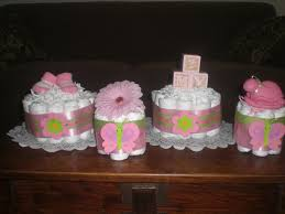 Home Made Baby Shower Decorations by Homemade Baby Shower Centerpieces Pink And Green Baby Shower
