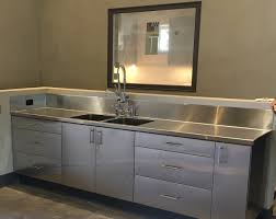 kitchen sink and cabinet unit stainless steel commercial kitchen cabinets steelkitchen