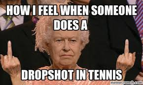 Tennis Memes - dropshot