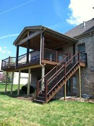 Deck And Patio Ideas Designs 117 Best Covered Deck And Patio Ideas Images On Pinterest Patio