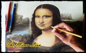 drawing the mona lisa youtube