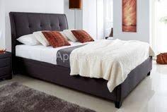 Grey Upholstered Ottoman Bed Evert Slate Grey Fabric Upholstered Ottoman Bed Frame Ottoman