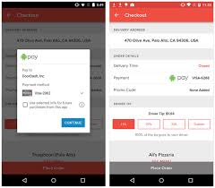 android pay app doordash now with android pay doordash