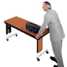 Adjustable Height Folding Table Folding Tables Versatile Portable Tables Nbf Com