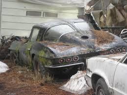 corvette wa 1963 corvette split window barn find in spokane barn finds