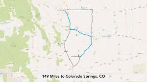Map Of Colorado Springs Co by 36 2 Acre Ranch In Southern Colorado Near Trinidad