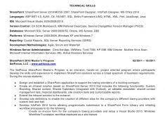 Sharepoint Developer Resume Sample by Receptionist Resumes Haadyaooverbayresort Com