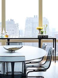 carrera marble top dining table design ideas