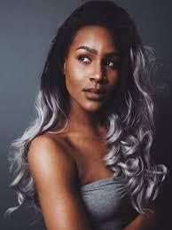3 hair pinterest dark skin beauty balayage and gray
