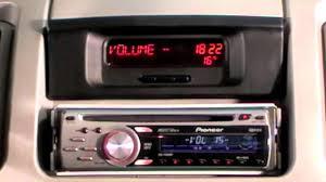 uri renault trafic ii mit pioneer radio und displayanzeige youtube
