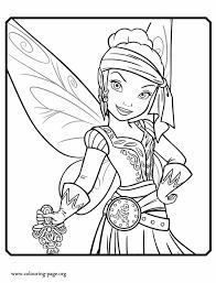 pirate fairy iridessa pirate fairy coloring