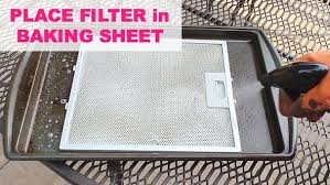 how to clean greasy kitchen exhaust fan how to clean a greasy kitchen home repair tutor