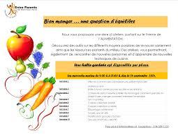 atelier de cuisine montreal série d ateliers portant sur le thème de l alimentation entre