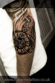 tattoos for men on arm sleeves best 25 time piece tattoo ideas only on pinterest pocket watch